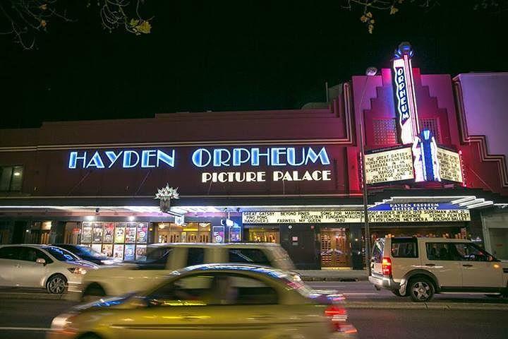 hayden orpheum picture palace sydney australia location
