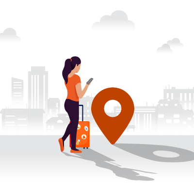 Ixigo Sticker - GKS Residency