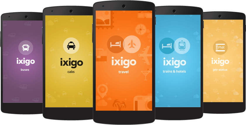 ixigo mobile apps