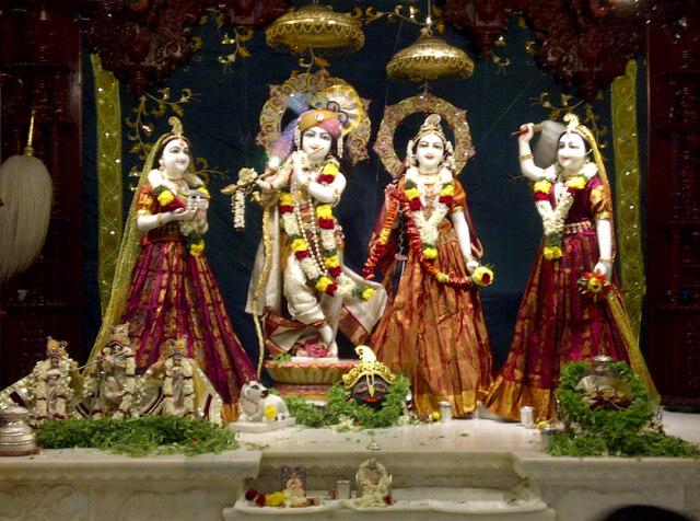 Bangalore iskcon temple video