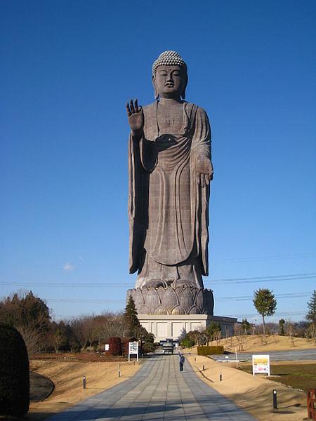http://en.wikipedia.org/wiki/File:Ushiku_daibutsu.jpg