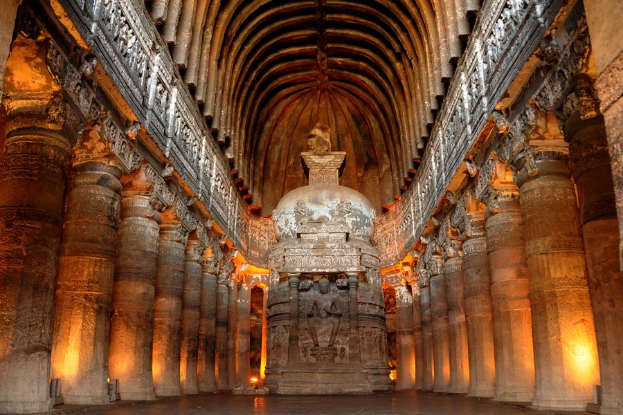 Ajanta Caves Aurangabad, India - Location, Facts, History and all ...